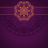 Floral Indian pattern Royalty Free Stock Photography