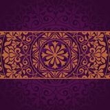 Floral Indian pattern Stock Image