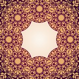 Floral Indian pattern Stock Photo