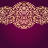 Floral Indian pattern. Stock Illustration
