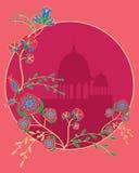 Floral indio Imágenes de archivo libres de regalías
