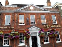 Floral Inn. A Beautiful English Inn royalty free stock image