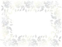 Floral invitation card Royalty Free Stock Photo