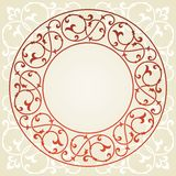 Floral invitation card. Stock Photos