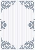 Floral invitation card. Stock Images