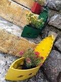 Floral iron Stock Photo
