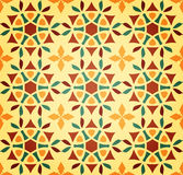 Floral Islamic Seamless Pattern Stock Image