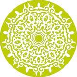 floral kaleidoscopic πρότυπο Στοκ φωτογραφίες με δικαίωμα ελεύθερης χρήσης