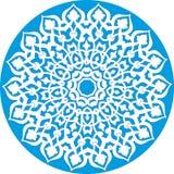 floral kaleidoscopic πρότυπο Στοκ Εικόνα