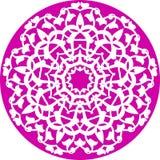 floral kaleidoscopic πρότυπο Στοκ Φωτογραφίες