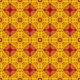 Floral Kaleidoscopic mosaic seamless texture Royalty Free Stock Image