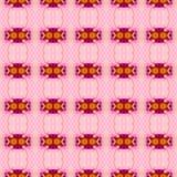 Floral Kaleidoscopic mosaic seamless texture Royalty Free Stock Photos