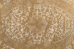 Floral lace background, close up. Royalty Free Stock Photo