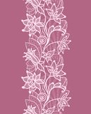 Floral lace Stock Image