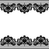 Floral lace pattern Royalty Free Stock Photos