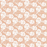 Floral lace pattern Stock Photos