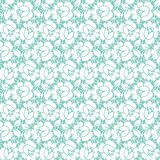 Floral lace pattern royalty free illustration