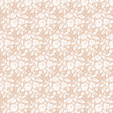 Floral lace pattern Royalty Free Stock Photography