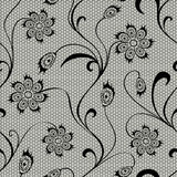 Floral lace seamless pattern Royalty Free Stock Image