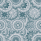 Floral lace  seamless pattern Stock Image