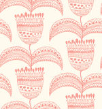 Floral lace seamless pattern  Oriental stylish bac Royalty Free Stock Images