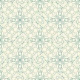 Floral lattice in art nuvo Stock Images