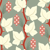Floral lattice pattern Royalty Free Stock Image