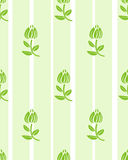Floral light green floral wallpaper Stock Image