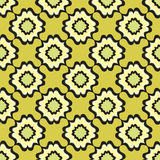 Floral line texture. Abstract Ethnic Seamless Background. Stock Images