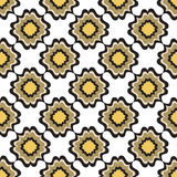 Floral line texture. Abstract Ethnic Seamless Background. Abstract geometric kaleidoscope seamless background. Ethnic seamless texture. Seamless pattern. Floral Royalty Free Stock Images