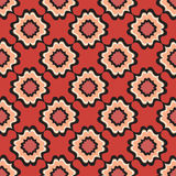 Floral line texture. Abstract Ethnic Seamless Background. Stock Photo