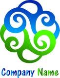 Floral logo Stock Photos