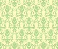floral loral ταπετσαρία πράσινου φω& Στοκ φωτογραφία με δικαίωμα ελεύθερης χρήσης