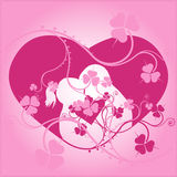 Floral love Royalty Free Stock Image
