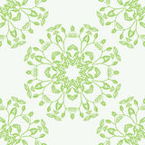 Floral mandala Εθνικά διακοσμητικά στοιχεία Στοκ φωτογραφίες με δικαίωμα ελεύθερης χρήσης