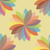 Floral mandala Εθνικά διακοσμητικά στοιχεία Hand-drawn backgroun Στοκ Εικόνες