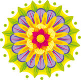 Floral mandala Stock Photo