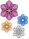 Floral mandala designs Stock Photo