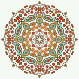 Floral mandala. Ethnic decorative elements. Hand-drawn Stock Photos