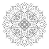 Floral mandala,  illustration Stock Photo