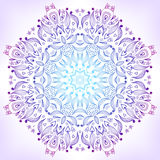 Floral mandala Royalty Free Stock Images