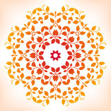 Floral mandala. Royalty Free Stock Image