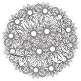 Floral Mandala Pattern Royalty Free Stock Images