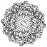 Floral Mandala Pattern Royalty Free Stock Photography