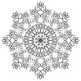 Floral Mandala Round Pattern Royalty Free Stock Photography
