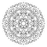 Floral Mandala Round Pattern Royalty Free Stock Images