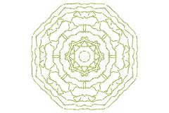 Floral Mandala Royalty Free Stock Photography
