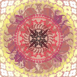 Floral mandalas Royalty Free Stock Images