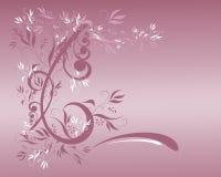Floral mauve illustration libre de droits