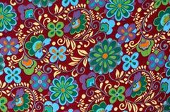 floral mayan πρότυπο ανασκόπησης Στοκ φωτογραφία με δικαίωμα ελεύθερης χρήσης